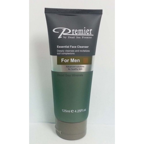 Dead Sea Premier Essential Face Cleanser for Men