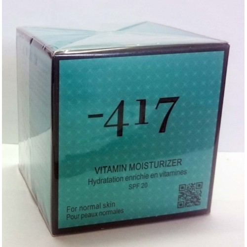 Minus 417 Dead Sea - Vitamin Moisturizer For Normal Skin SPF20