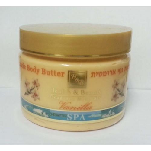 H&B Dead Sea Aromatic Body Butter Vanilla 350ml