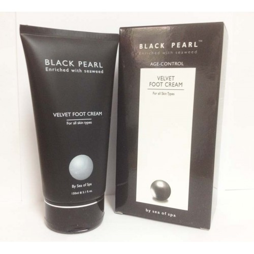 Sea of Spa Black Pearl Velvet Foot Cream 150ml