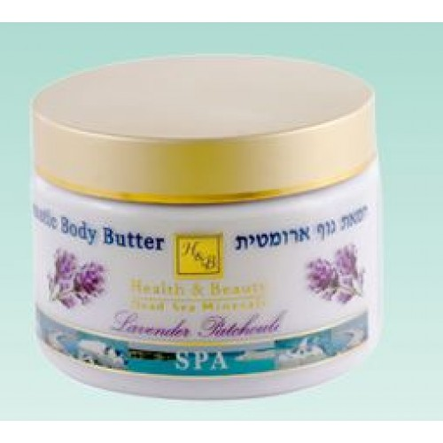 H&B Dead Sea Aromatic Body Butter Lavender Patchouli 350ml