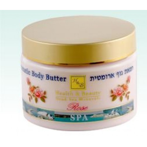 H&B Dead Sea Aromatic Body Butter Rose 350ml