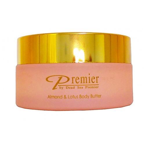 Dead Sea Premier Body Butter Almond & Lotus